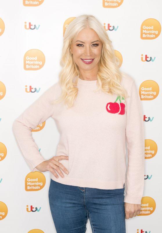 Denise Van Outen – Good Morning Britain TV Show in London 05/12/2021