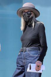Diane Keaton at Cedars-Sinai in Beverly Hills 05/04/2021