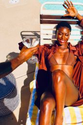 Diarra Sylla by the Pool in Palm Springs 05/10/2021