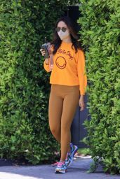 Eiza Gonzalez - Heading to Pilates Class in West Hollywood 05/05/2021