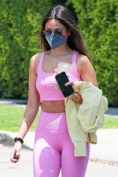 Eiza Gonzalez in Gym Ready Outfit - West Hollywood 05/12/2021