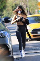 Eiza Gonzalez in Workout Gear - West Hollywood 05/14/2021