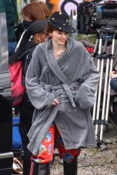"Eleanor Tomlinson ""The Offenders"" Set in Bristol 04/27/2021"