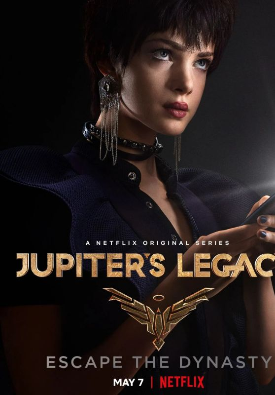 "Elena Kampouris - ""Jupiter´s Legacy"" Season 1 Promo"
