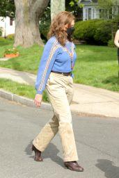 """Elizabeth Banks and Sigourney Weaver - """"Call Jane"""" Set in Hartford 05/15/2021"""
