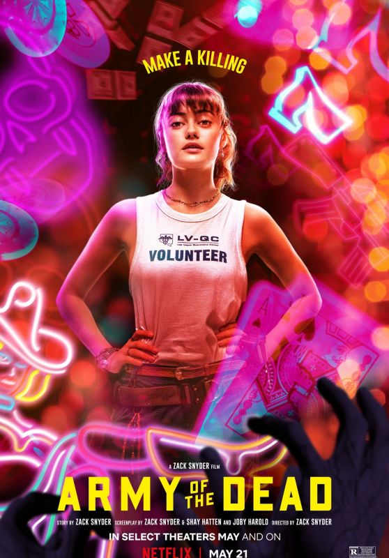 """Ella Purnell - """"Army of the Dead"""" Posters"""
