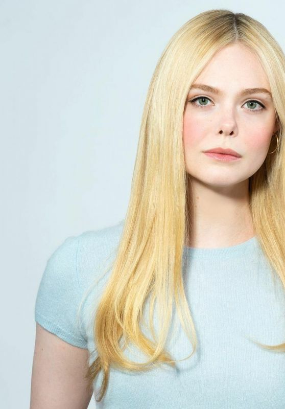 Elle Fanning - One Click Photoshoot by Gareth Gatrell 2021