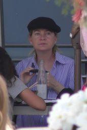 Ellen Pompeo - Having Dinner in LA 05/21/2021