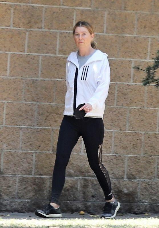 Ellen Pompeo - Out in Los Angeles 05/12/2021