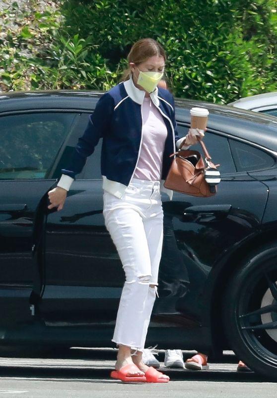 Ellen Pompeo - Out in West Hollywood 05/01/2021