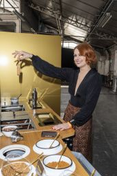 Elodie Frege - Gims x Magnum Ice Cream Launch at the Espace Amelot in Paris 05/27/2021