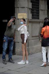 Elodie - Out in Milan 05/18/2021