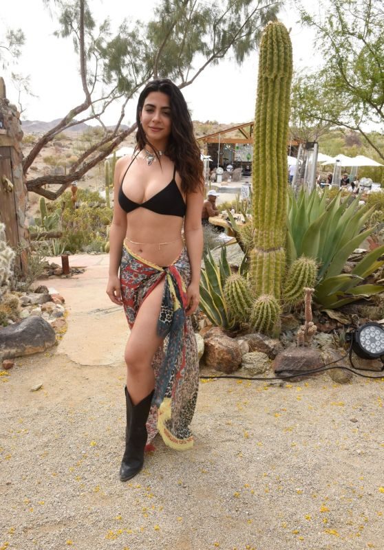 Emeraude Toubia - Caliwater Escape at the Mojave Moon Ranch in Joshua Tree 04/30/2021