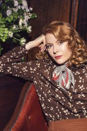 Emily Beecham and Lily James - The Pursuit of Love Promoshoot 2021