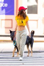 Emily Ratajkowski in the Tribeca Neigborhood of NY 05/17/2021