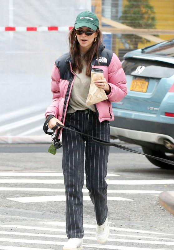 Emily Ratajkowski - Out in Soho in NY 05/08/2021