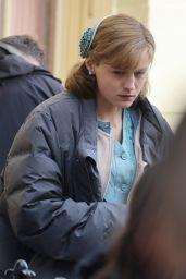 "Emma Corrin - ""My Policeman"" Set in Brighton 05/05/2021"