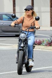 Emma Slater - Riding on Electric Bike in LA 05/01/2021