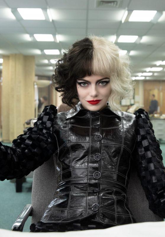 """Emma Stone - """"Cruella"""" Poster and Promo Photo"""