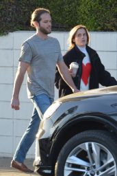 Emma Watson With Beau Leo Robinton in LA 05/22/2021