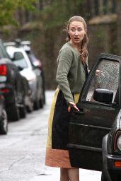"Erin Doherty - ""Chloe"" Filming Set in Bristol 05/11/2021"