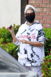 """Eva Mendes Wears """"Mambacita"""" Outfit in Los Angeles 05/10/2021"""