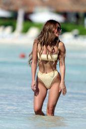 Francesca Farago in a Bikini - Beach in Mexico 05/21/2021