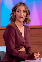 """Frankie Bridge - """"Loose Women"""" TV Show in London 05/07/2021"""