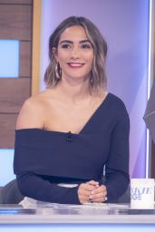 Frankie Bridge - Loose Women TV Show in London 05/12/2021