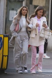 Georgia Steel and Joanna Chimonides - Out in London 05/01/2021