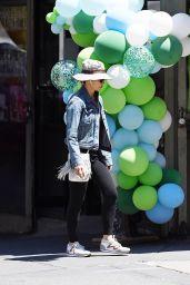 Gina Gershon Street Style - New York 05/17/2021
