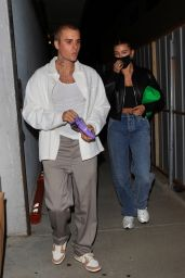 Hailey Rhode Bieber and Justin Bieber - Leaving Church in Los Angeles 05/26/2021