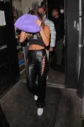 Hailey Rhode Bieber and Justin Bieber - leaving Kendall Jenner