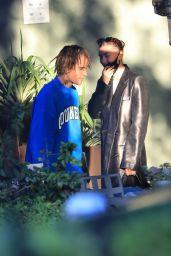 Hailey Rhode Bieber - Arrives at The Jim Henson Company in LA 05/11/2021