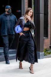 Hailey Rhode Bieber is Stylish - NYC 05/16/2021