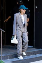 Hailey Rhode Bieber - Leaving Her Apartment in Brooklyn 05/17/2021