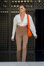 Hailey Rhode Bieber Looking Stylish For a Business Meeting in LA 05/04/2021