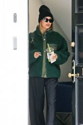 Hailey Rhode Bieber With Scooter Braun in Los Angeles 05/13/2021