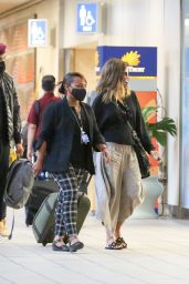Halle Berry - Arriving at Orlando International Airport 05/05/2021