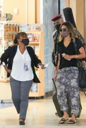 Halle Berry - Departing From Orlando 05/07/2021