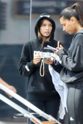 Hana Cross - After a Workout in West Hollywood 05/18/2021