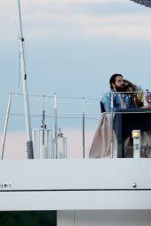 Heidi Klum and Tom Kaulitz on Lake Wannsee in Berlin 05/28/2021