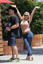 Heidi Montag and Spencer Pratt at Don Antonio
