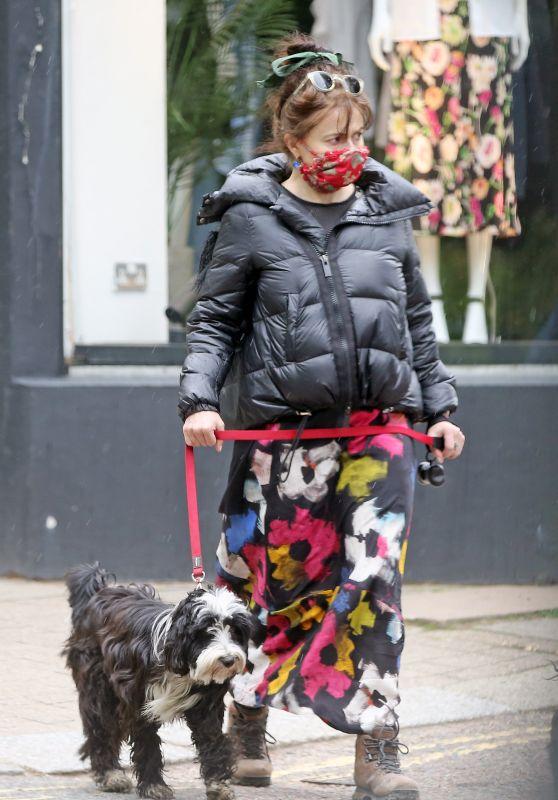 Helena Bonham Carter - Out in London 05/18/2021