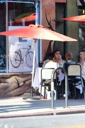 Hilary Duff at Petit Trois in LA 05/04/2021
