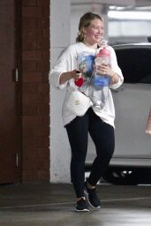 Hilary Duff - Leaving a Gym in Los Angeles 05/17/2021