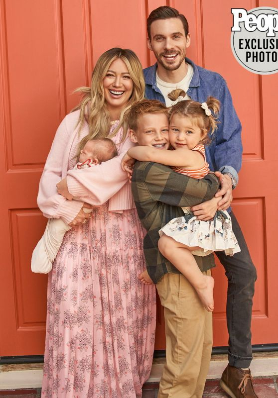 Hilary Duff - People USA 05/17/2021 Issue