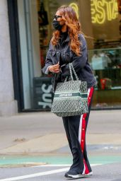 Iman - Wears Denim and Dior and Track Pants 05/24/2021