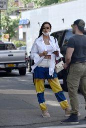 Irina Shayk - Out in New York City 05/26/2021