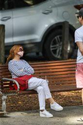 Isla Fisher and Sacha Baron Cohen - Sydney 05/08/2021
